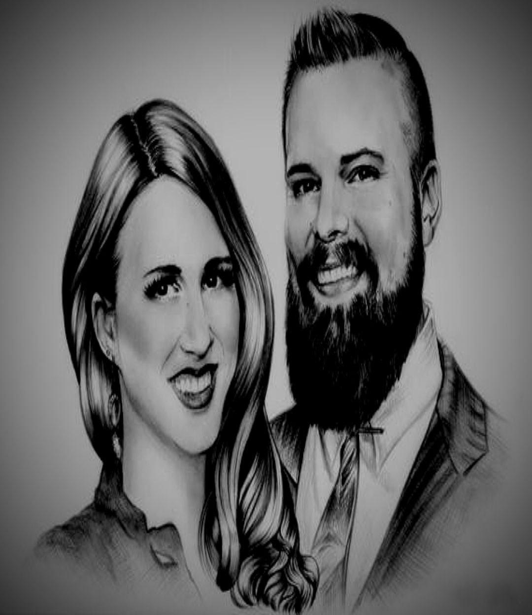 COUPLE SKETCH portrait