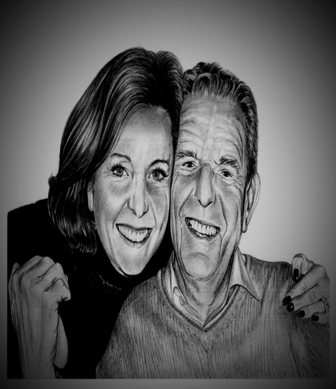 Friends & Family Charcoal Portraits